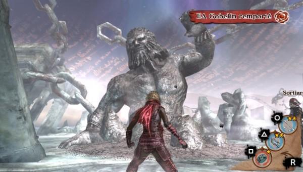 Voici l'offrande monstrueuse obtenue grâce à la démo, ce n'est pas une statue, mais une invocation! Merci à la Team Bad Boyz! OtaXou, Foxylary et Get_Crazy!