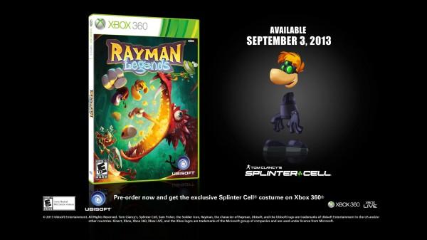 Rayman Legends X360