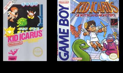 Kid Icarus NES & GB