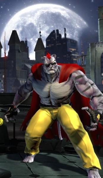 Vous pensiez que je plaisantais pour le tigre humanoïde violet, borgne, avec une crinière de punk rouge et une cape de haillon?
