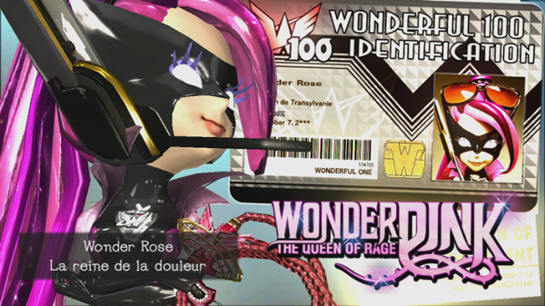 Carte d'identification de Wonderful Rose