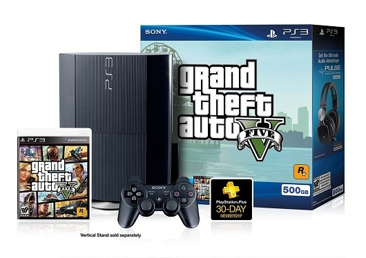 GTA V Bundle PS3