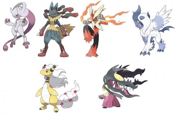 Pok mon xy des nouvelles des mega evolutions game inferno - Les mega evolution pokemon x et y ...