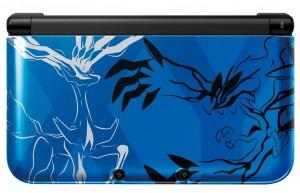 3DSXL Pokemon XY Bleu