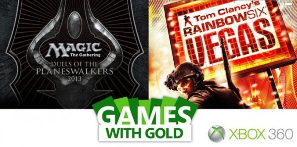 Games With Gold - Magic & Rainbow Six