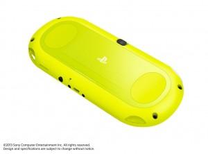 PSVITA2000 Yellow Back