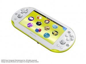 PSVITA2000 Yellow Front