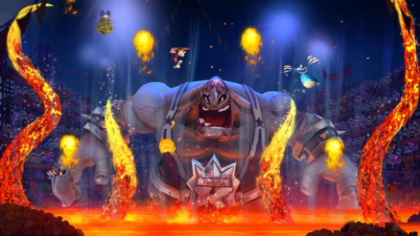 3D + Flammes, le combo gagnant de Rayman Legends