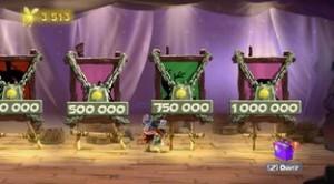 il vous faudra 1 000 000 de lums pour débloquer le dernier personnage! L'horreur pour les chasseurs de trophée...