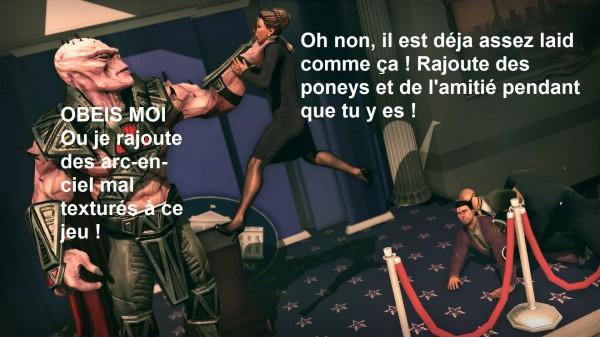Les dialogues viennent de la version originale du jeu.