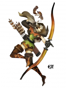 Dragon's Crown - Elfe