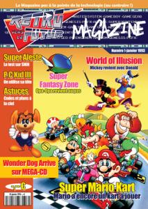 Rétro Vers Le Futur Magazine - Couverture