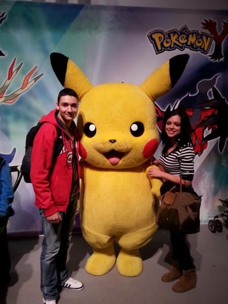 Pikachu a toujours une cote d'enfer :D hein Brian et Shéra?