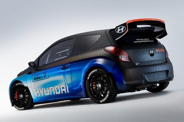 La fameuse Hyundai i20-WRC-Test Car