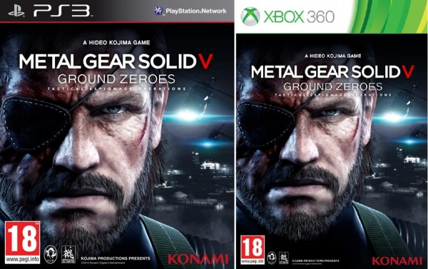MGS V GROUND ZEROES PACKSHOT