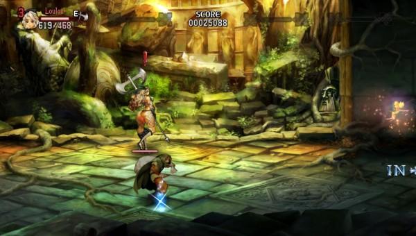 La petite fée Tiki vous indique le chemin tandis que Ronnie le voleur se remplit la besace une fois tout danger écarté.