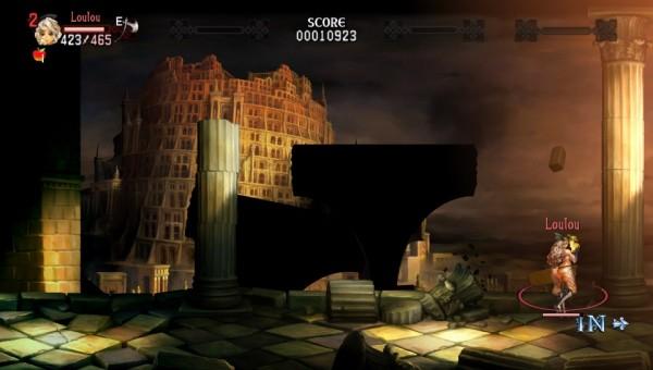 Un petit casse-croûte bien mérité devant une tour qui ressemble à s'y méprendre à la tour de Babel.