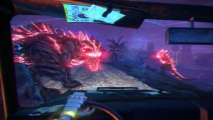 Far Cry Blood Dragon - En Voiture