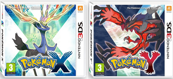 Pokemon X et Y 3DS