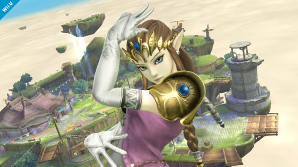 Super Smash Bross Zelda