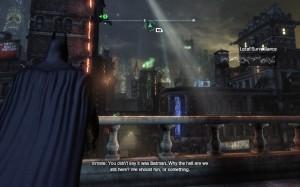 Batman Arkham Origins - Rues de Gotham