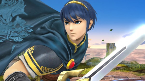 super smash bros Marth