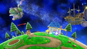 super smash bros Stade Galaxy
