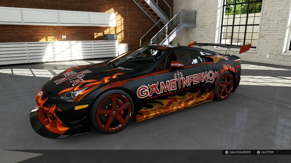 Lexus LFA - Game Inferno Edition