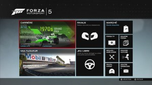 Forza 5 - Mode de jeux
