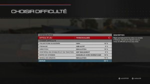 Forza 5 - Réglages difficultés