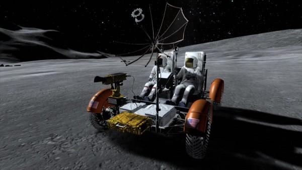 Le fameux Lunar Rover