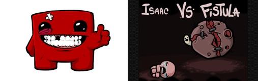 Super Meat Boy & The Binding of Isaac, les deux succès d'Edmund McMillen et Florian Himsl
