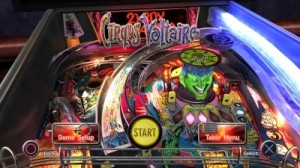 The Pinball arcade Screen