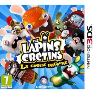 Les lapins Crétins 3DS Jaquette