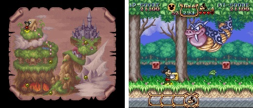 Mickey Magical Quest - Screen 1