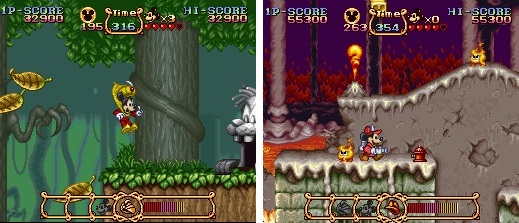 Mickey Magical Quest - Screen 2