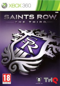 Saints Row The Third - Cover