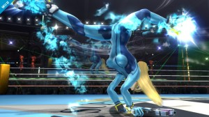 Super Smash Bross Samus sans Armuse