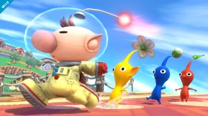 Super Smash Bross olimar