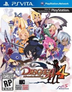 Disgaea 4 cover