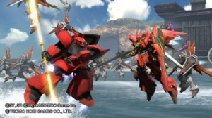 Dynasty Warriors Gundam - Crimson Lightning et Red Comet