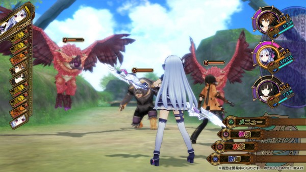 Fairy Fencer F - Screen