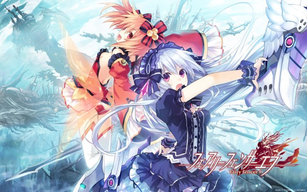 Fairy Fencer F - Title