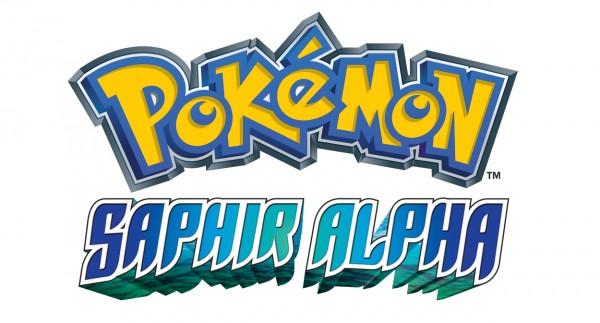 Pokémon Saphir Alpha Title