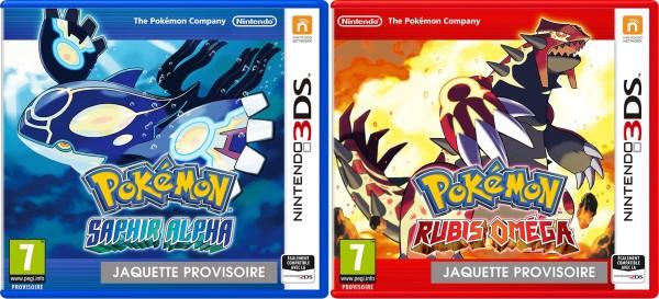 Pokemon Saphir Alpha et Rubis Omega