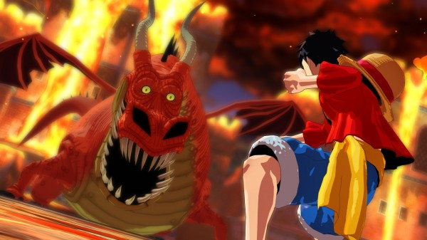 one piece unlimited world red Dragon