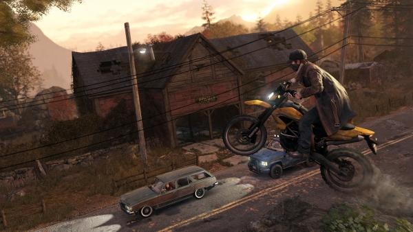 Si Aiden joue les têtes brûlées à moto, c'est parce qu'il ne craint (presque) rien.
