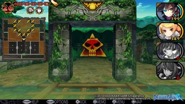 Demon Gaze - Screen 2