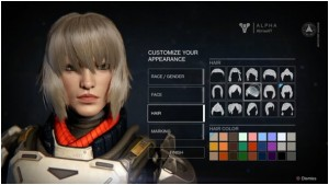Destiny - Customisation