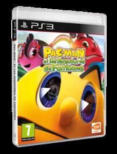 PAC-Man et les Aventures de Fantômes - PS3 Cover